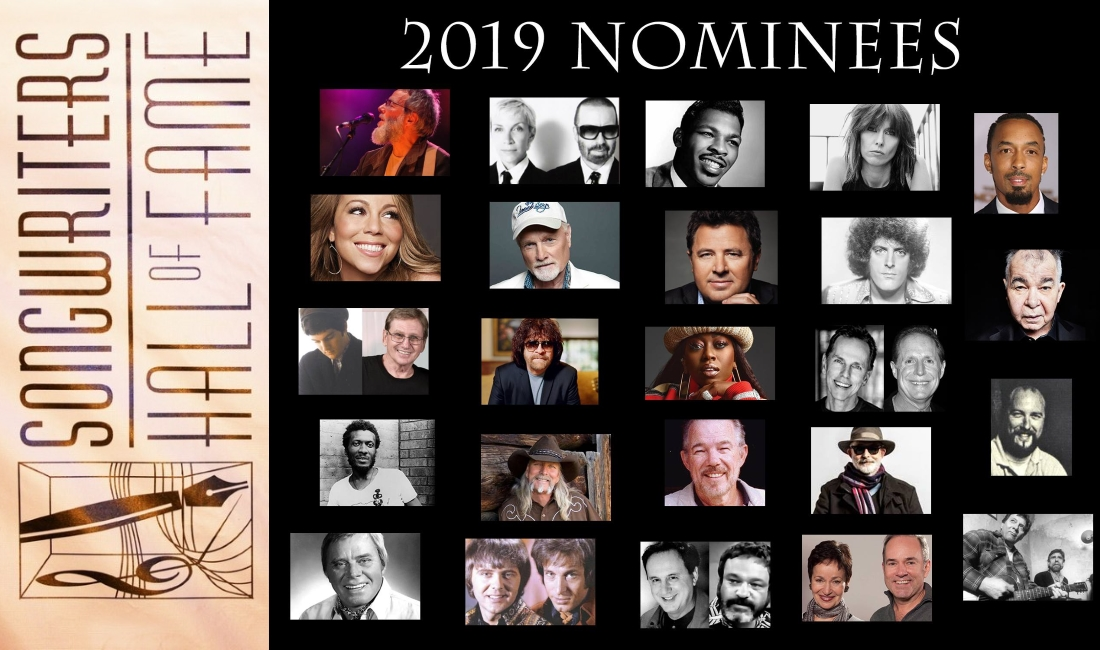 Eurythmics Songrwiters Hall Of Fame 2019 Nominees