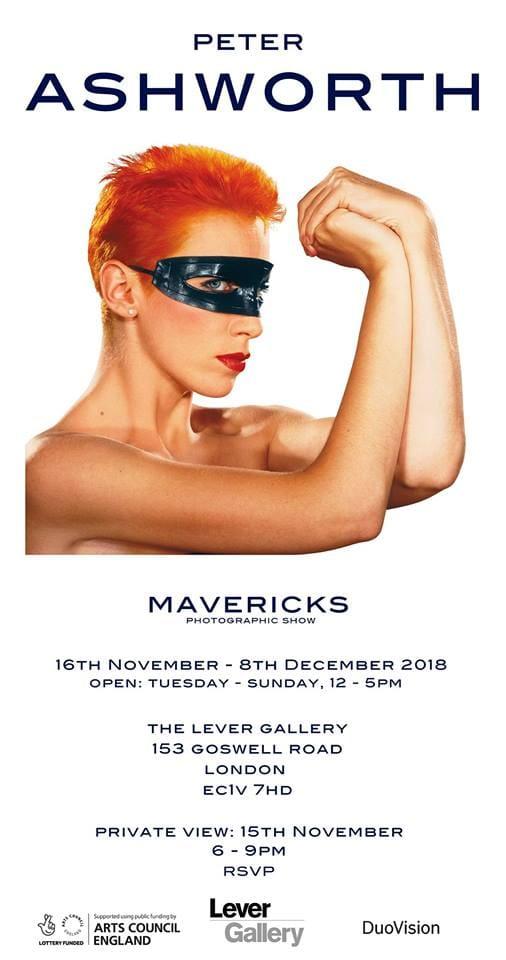 Peter Ashworth Mavericks London Eurythmics Annie Lennox