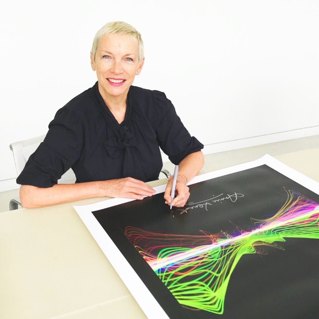 Annie Lennox Signing Why Soundwaves