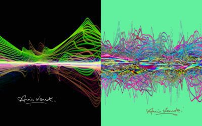 Annie Lennox announces 2 limited edition prints with Tim Wakefield and Soundwaves