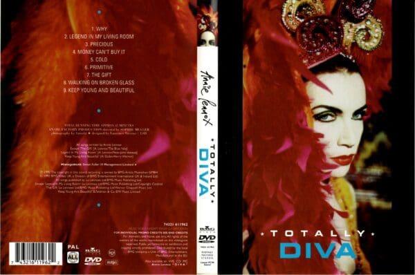 5591 Annie Lennox Videoofficial Totally Diva UK DVD 743216119691 02