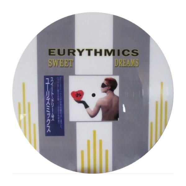 """5649 - Eurythmics - Bootlegs - Israel Bootleg Series - Sweet Dreams - Israel - 12"""" Single Picture Disc"""