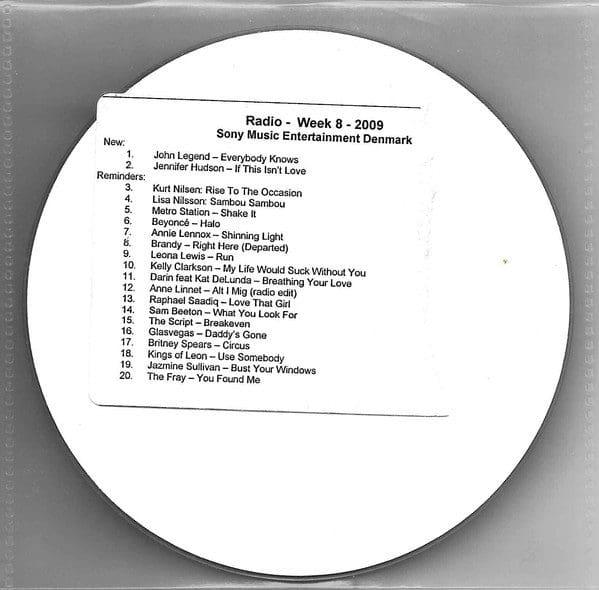5680 - Annie Lennox - Shining Light - Denmark - Promo CD Single - CDR
