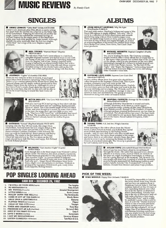 Ultimate Eurythmics Archives : Annie Lennox - Cashbox