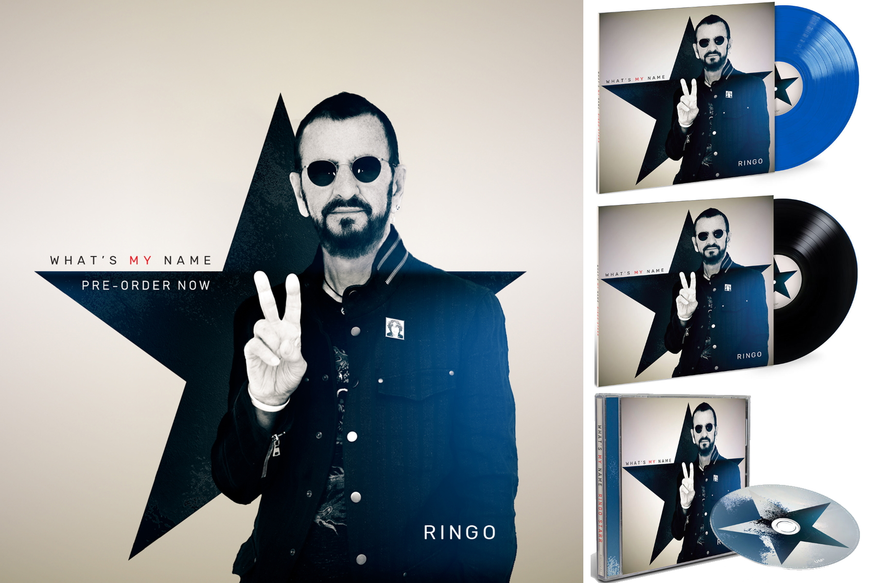Ringo Starr Dave Stewart Whats My Name